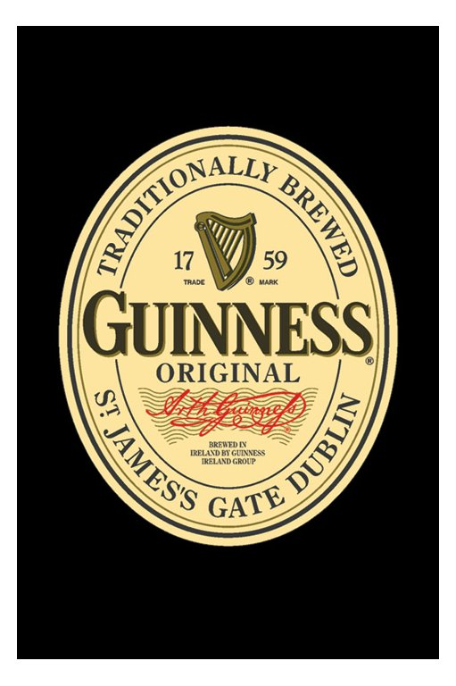 guinness label